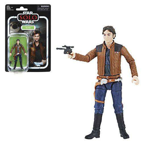 Image of Star Wars The Vintage Collection Han Solo (Solo) 3 3/4-Inch Action Figure