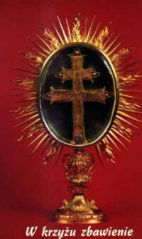 Relikwiarz Krzyża św. z Olkusza