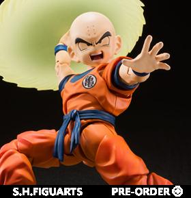 Dragon Ball Z S.H.Figuarts Krillin (Earth's Stongest Man)