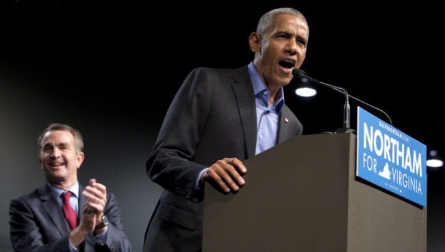 Obama Returns to Campaign Trail with Virginia, New Jersey Events