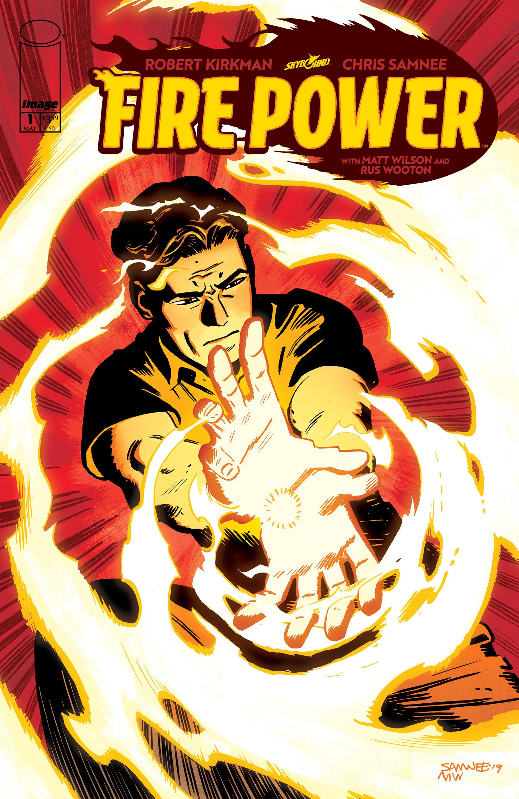 Robert Kirkman and Chris Samnee launch new ongoing series, 'Fire Power'