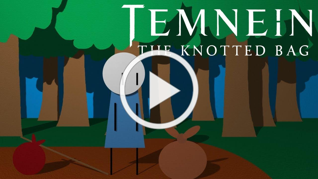 TEMNEIN - The Knotted Bag (LYRIC VIDEO)