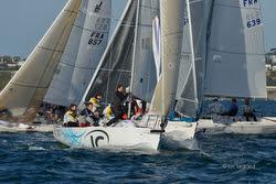 J/80 sailing France