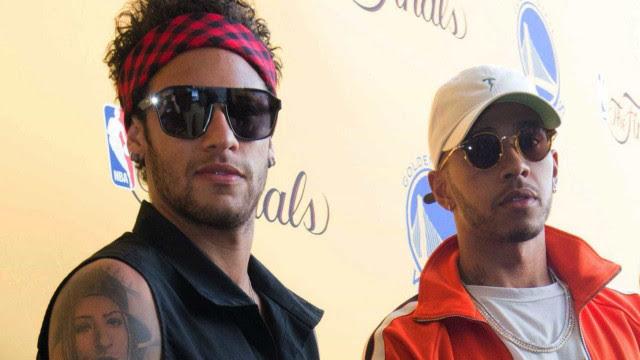 Hamilton: campeão conta como tem diálogos incríveis com Neymar