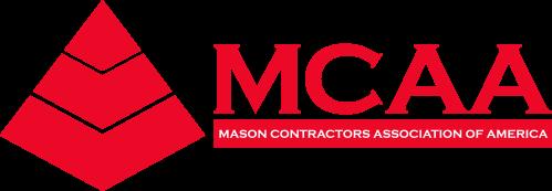 MCAA logo - Pantone 185 C