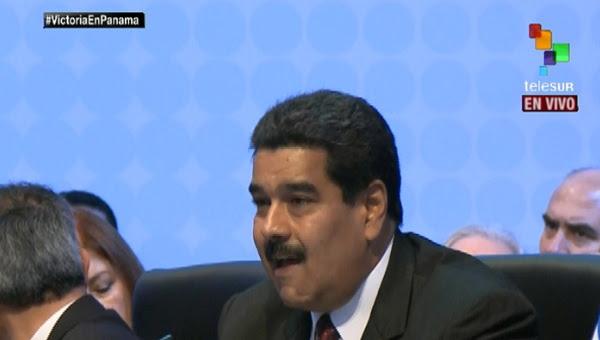 Presidente Maduro en la Cumbre de las Américas