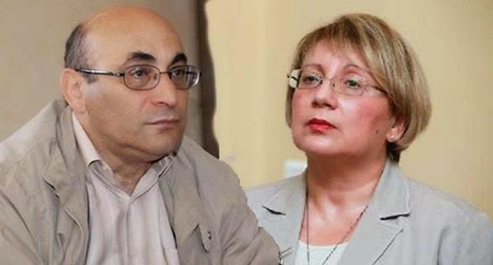 Leyla and her husband Arif Yunus, both imprisoned by the Azerbaijani authorities