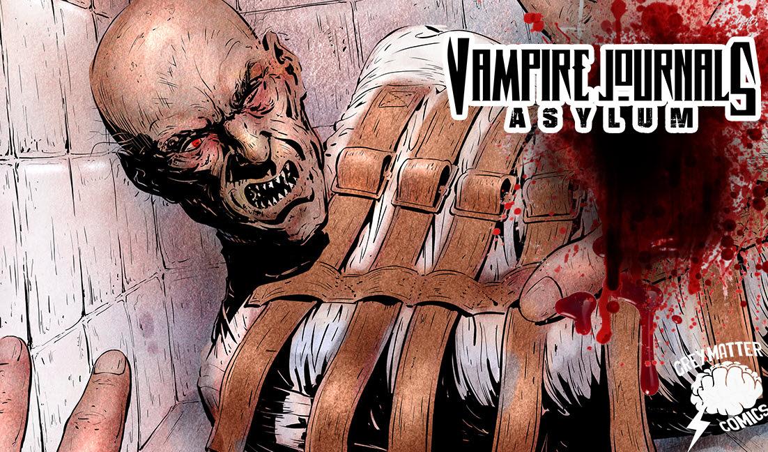 Kickstarter Project: Vampire Journals: Asylum