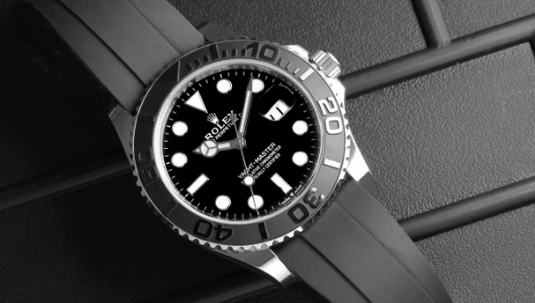 Yachtmaster White Gold Oysterflex