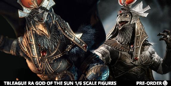 TBLeague Ra God of the Sun (Golden & Silver Ver.) 1/6 Scale Figures