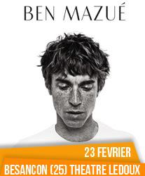 Ben Mazué à Besançon