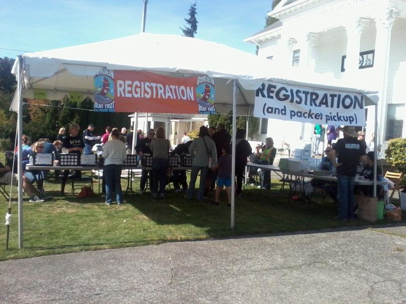 Packet Pick up and in-person registration