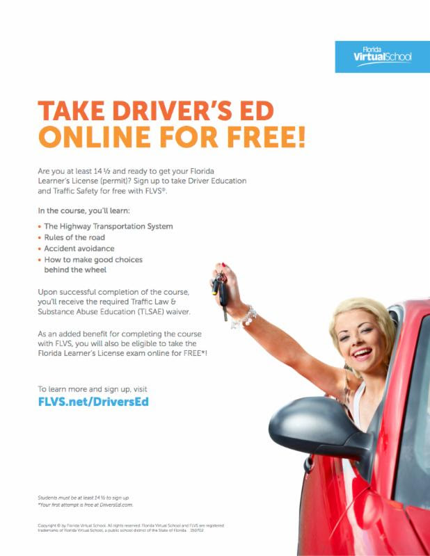 Take Driver's Ed Online For Free!