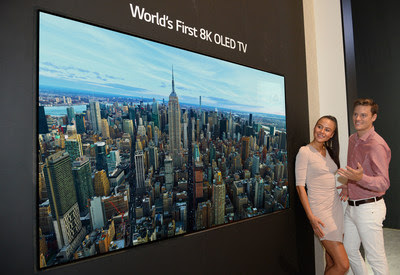 First To Mass Produce Large Screen OLED TVs, LG Poised to Lead Market in Advanced Premium TV Technologies