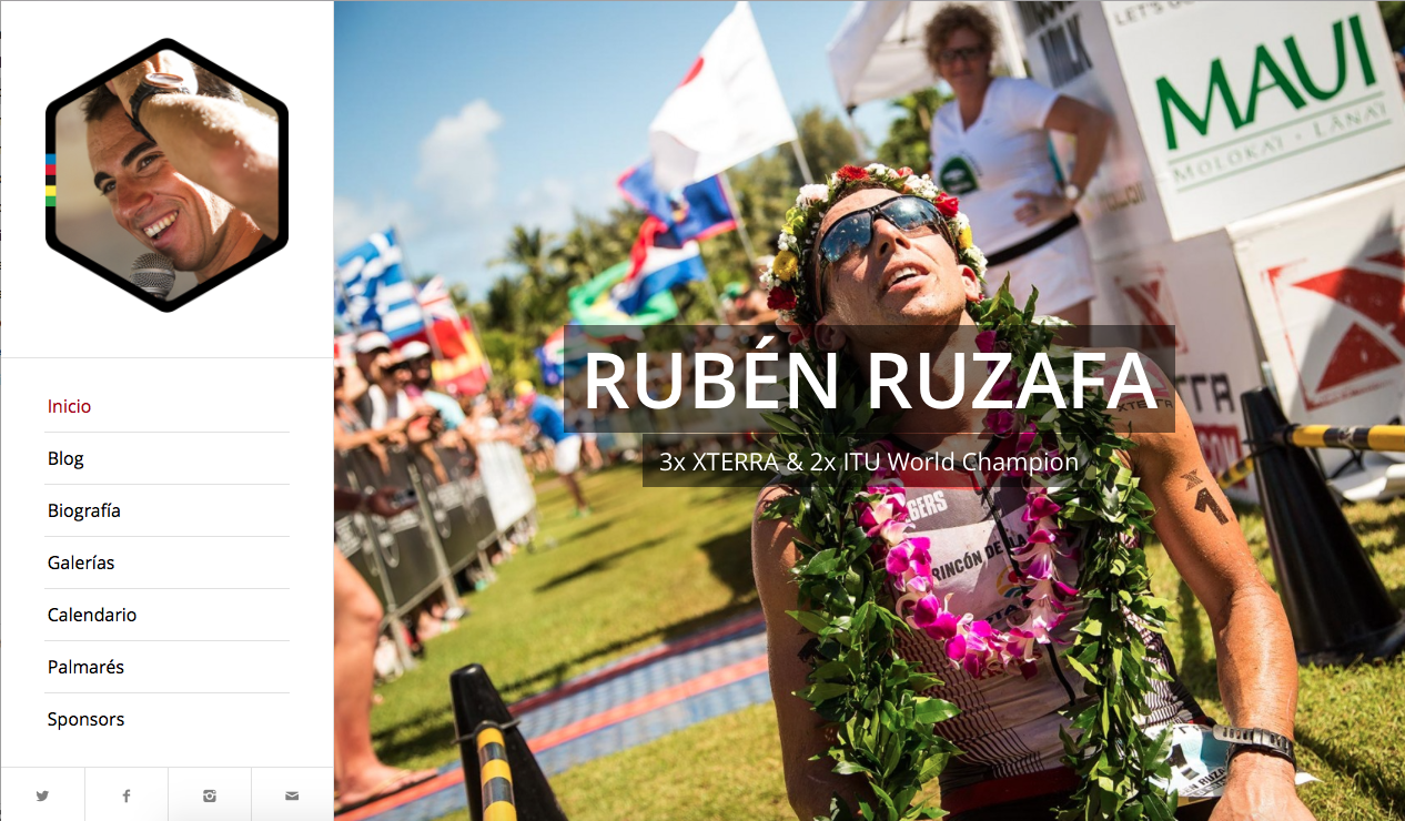 3x XTERRA World Champion Ruben Ruzafa