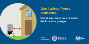 Use Turkey Fryers Outdoors