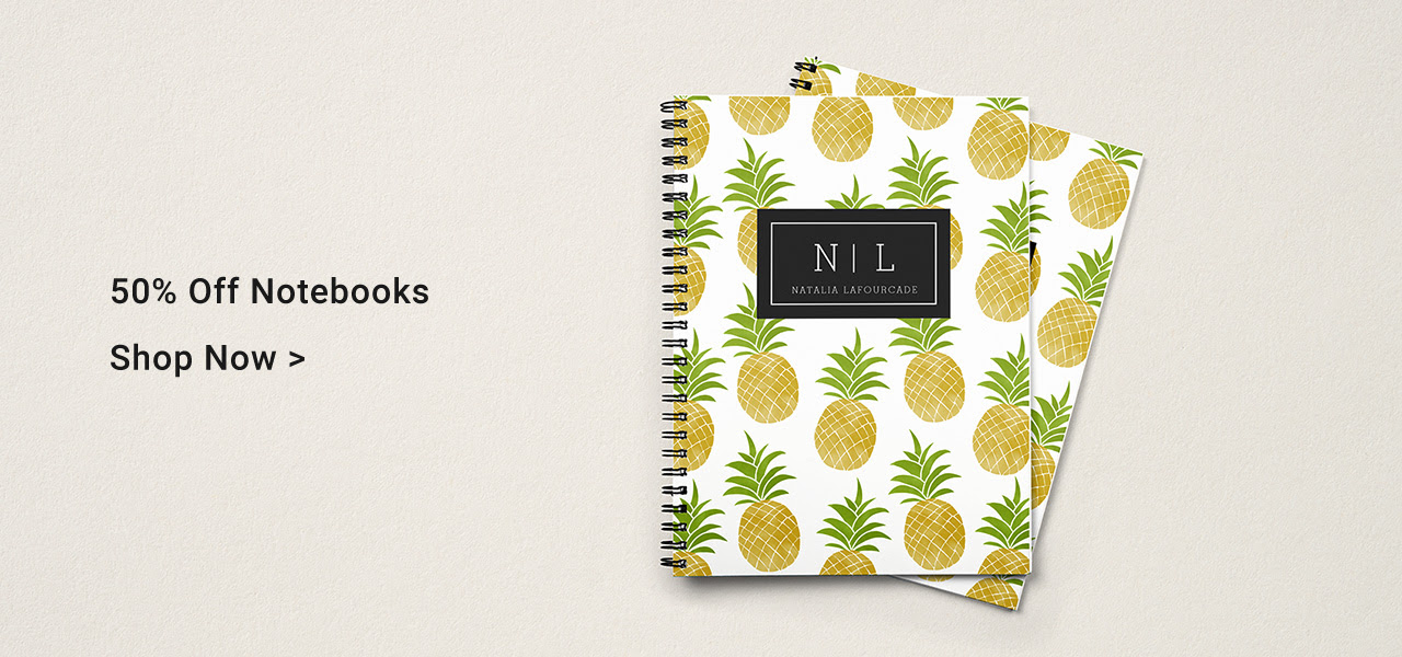 50% Off Notebooks