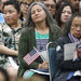 A naturalization ceremony last week in Los Angeles. The Trump administration said it would add a question about citizenship to the 2020 census.