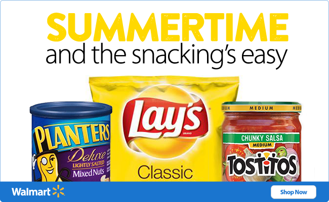 Easy Summer Snacking at Walmar...
