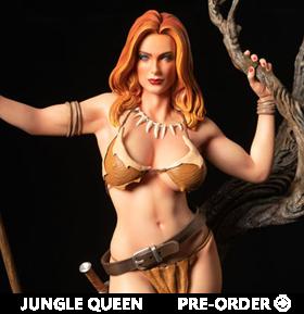 Jungle Queen 1/4 Scale Limited Edition Statue