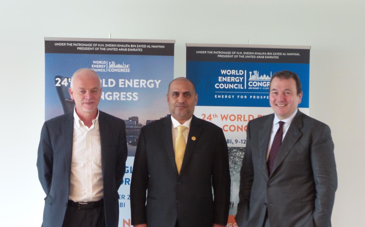 Lapo Pistelli,  Dr Matar Al Neyadi and Marco Margheri