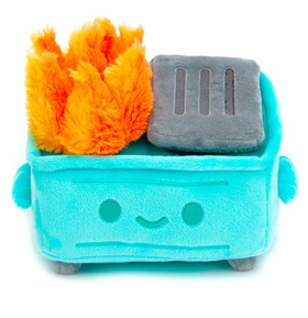 Lil Dumpster Fire Plushie