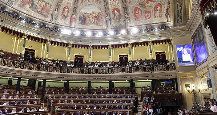 La vista general del Congreso español