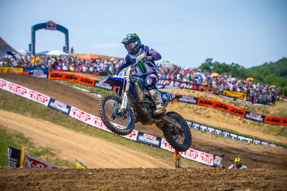 Barcia earned his second overall podium result of the season.