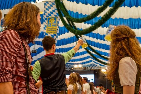 Es impensable participar en un festival sin 'trachten'. /@alinagenesio