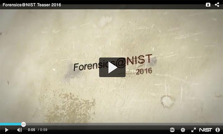 Forensics@NIST 2016 Video Teaser