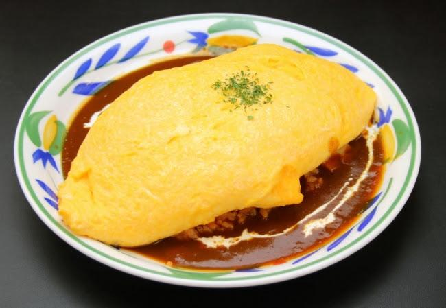 新宿特製オムライス(¥950)