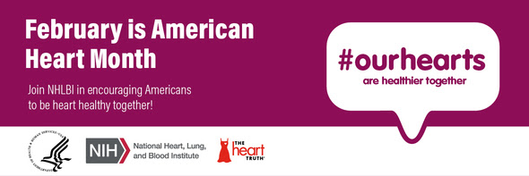 American Heart Month Banner