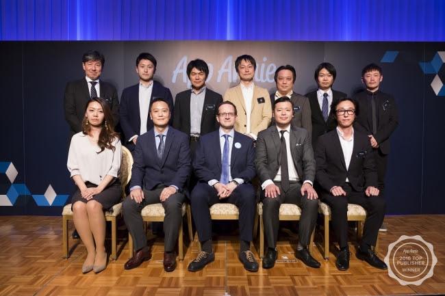 2016年 日本ダウンロードランキングトップ10 受賞企業