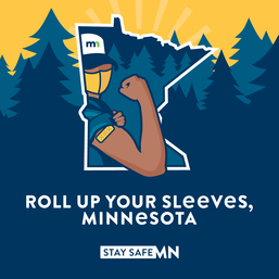 Roll Up Your Sleeves Minnesota Graphic