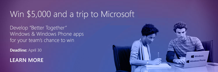 Win $5000 and a trip to Microsoft