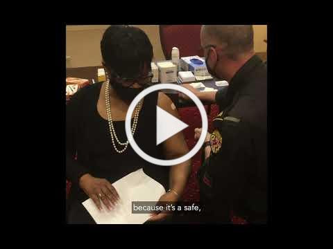 Speaker Adrienne Jones Receives COVID-19 Vaccine