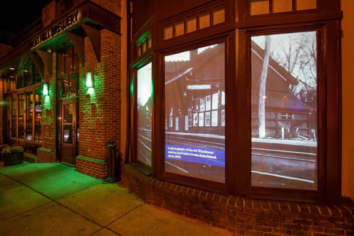 Night of Lights window display