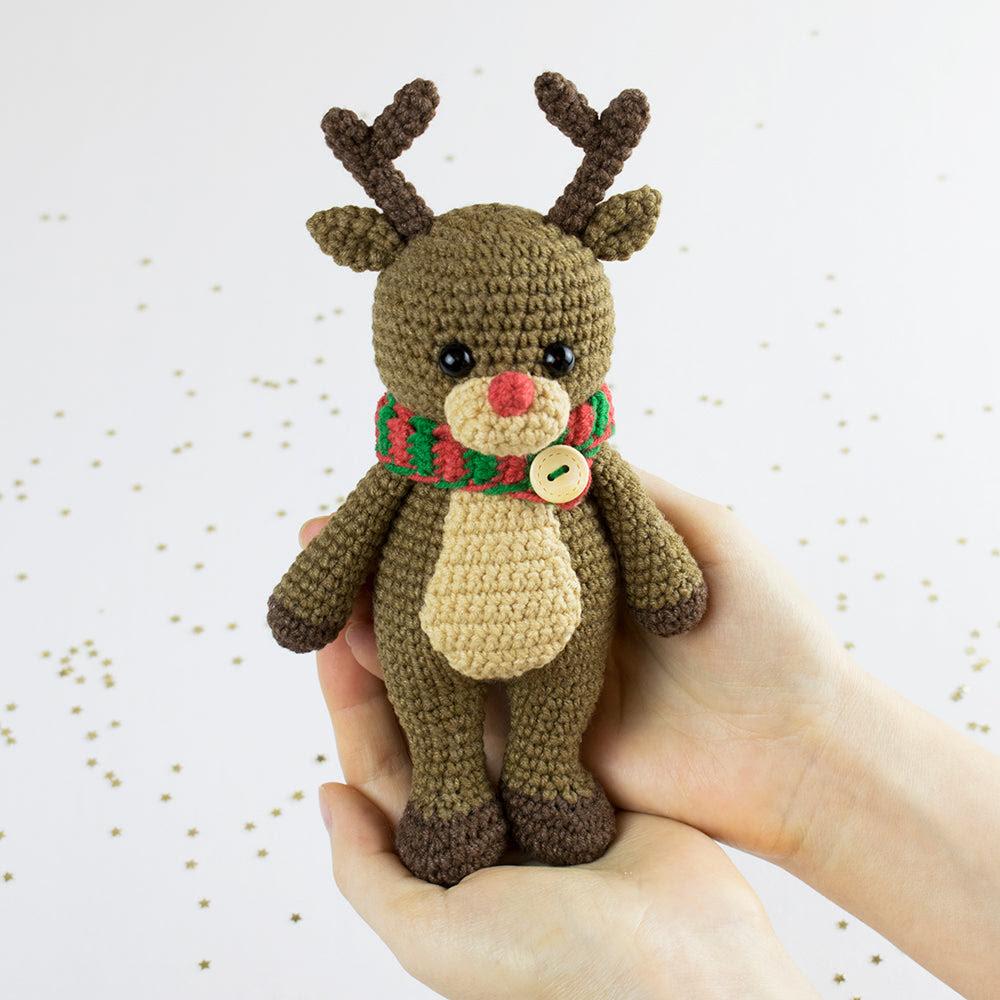 Câliner moi renne crochet pattern - PDF imprimable