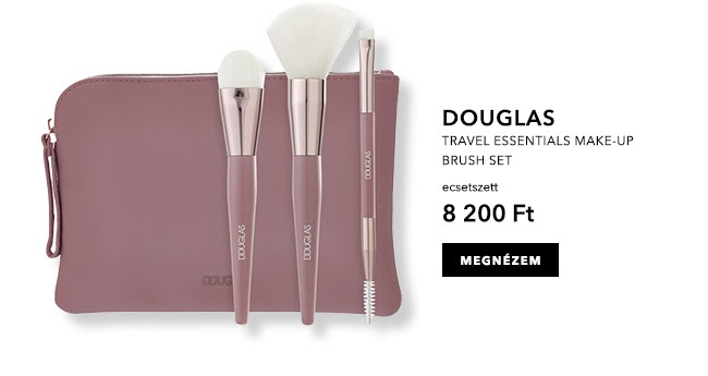 Travel Essentials Make-Up Brush Set - Ecset szett
