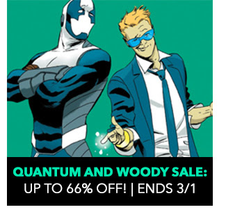 Quantum and Woody Sale: up to 66% off! Ends 3/1.