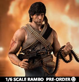 First Blood John Rambo 1/6 Scale Figure