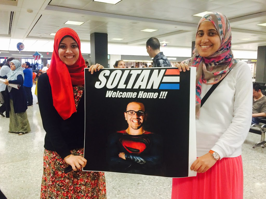 Welcome Home Mohamed Soltan!