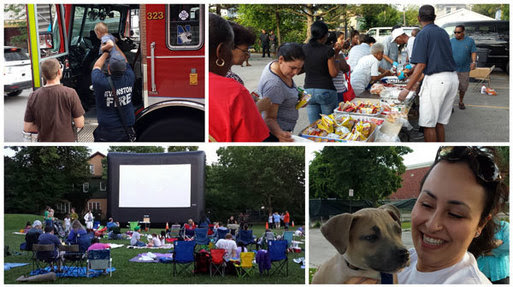 National Night Out collage