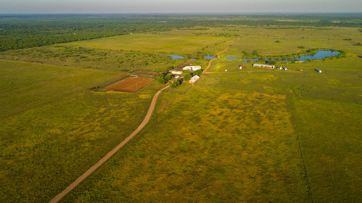 Big Sandy Creek Aerial View