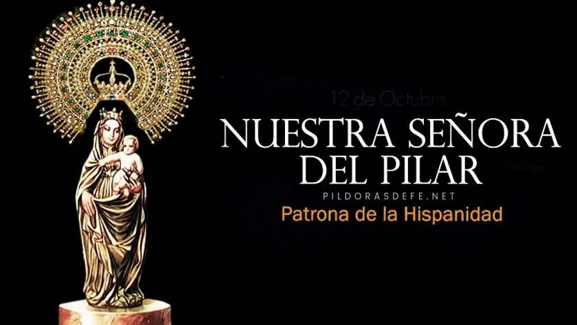 nuestra senora del pilar patrona de la hispanidad virgen del pilar historia tradicion