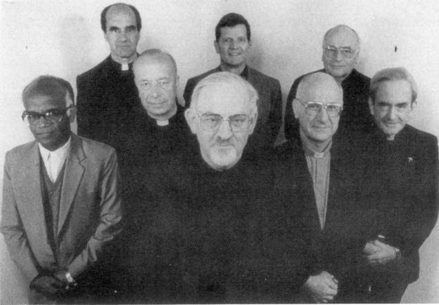 The Black Pope and his Jesuit Brothers