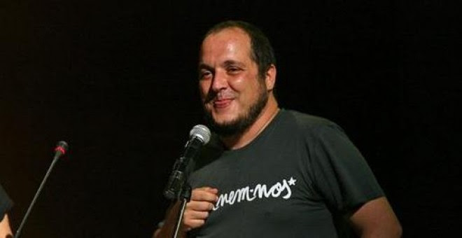 David Fernández, en un acto reciente de la CUP. EFE/Jaume Sellart