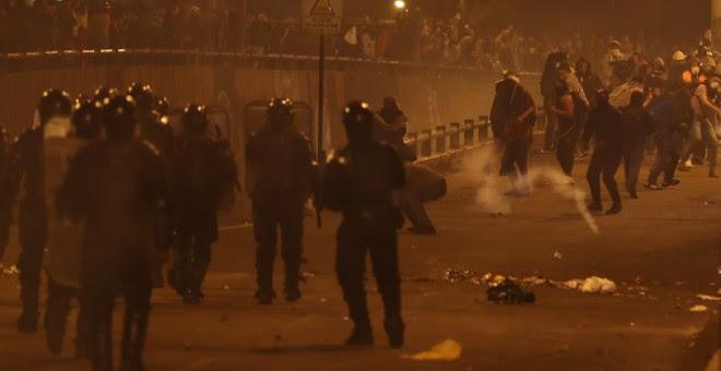 Protestas en Quito. EFE/ José Jacome