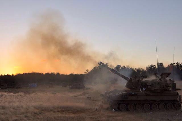 IDF Artillery Corps in Gaza