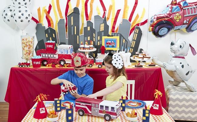 Little Fireman Party Supplies.